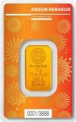 Zlatý slitek Argor Heraeus – 10 gramů Rok buvola 2021