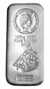 Stříbrná mince ve slitkové formě 1 kg