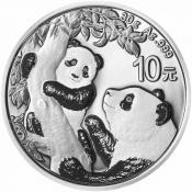 Stříbrná mince Panda 30 gramů 2021