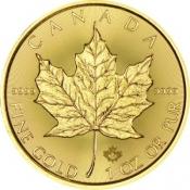 Zlatá mince Maple Leaf 1 Oz 2021