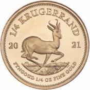 Zlatá mince Krugerrand 1/4 Oz