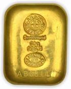 Zlatý slitek Argor Heraeus 50 gramů